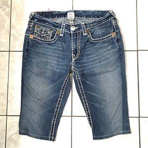 True Religion Joey Super T Men's Blue Shorts